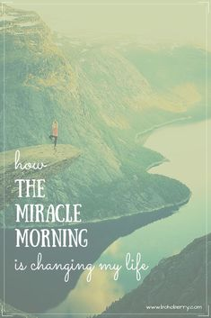The Miracle Morning by Hal Elrod is a book that has forever changed my life. Learn about the importance of a morning routine and start living your best life today!