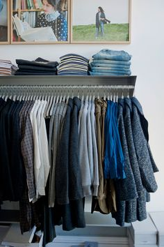 """I want my closet to be like a store. Not a typical """"california closet"""" system"""