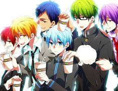 Title : Dành riêng cho những ai thích Kuroko no Basket • Author : __King__Rika__ • Pairings : AkaKuro, KiKuro, AoKuro...