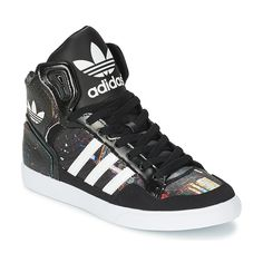 rosh run grise et blanche - 1000+ ideas about Basket Montante Adidas on Pinterest | High Top ...