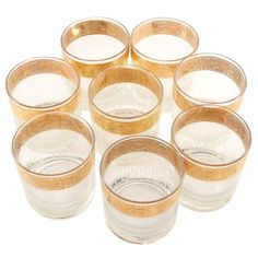Available at The Hour Shop & TheHourShop,com - curated vintage goods for the modern home bar. Drinkware, Barware, Cocktails On The Rocks, Cocktail Glassware, Vintage Cocktails, Modern Home Bar, Old Fashioned Cocktail, Vintage Rock, Bar Tools