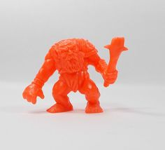 Monster In My Pocket - Series 1 - 32 Ogre - Neon Red - Mini Figure