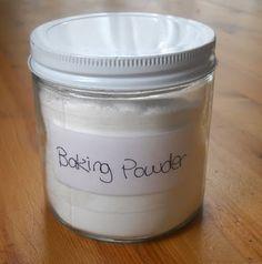 How to make your own Grain-free Corn-free Baking Powder - 1 part baking soda, 2…,