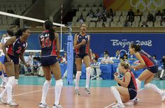 USA volleyball team