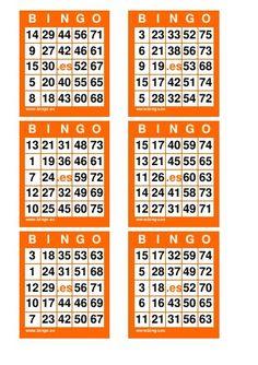 Cartelas de bingo.. Bingo Cards To Print, Free Printable Bingo Cards, Bingo Template, Printable Board Games, Bingo Board, Printable Templates, Bingo King, Halloween Bingo Cards, Bingo Card Generator