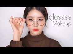 c794feaeb8c ENG 데일리 안경 메이크업(feat.화장안뜨는법) daily makeup tutorial-
