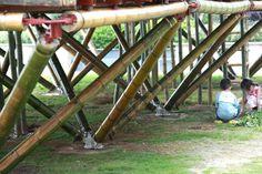 city-in-sky, Still bamboo joinery
