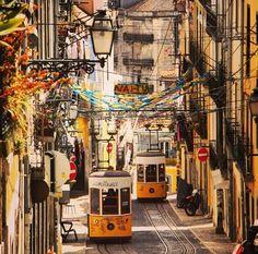 Lisbon, Lisbon, Portugal - My Instagram shot of the famous Lisbon...