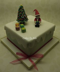 2011 Christmas Cakes - For Lou & Nick 010 (w) by Cakes By Ade (from Ade's Piccies), via Flickr