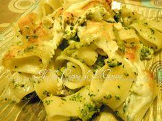 Pasta calamarata al forno con cavoli e broccoli  ricetta vegetariana