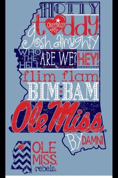 Ole Miss Yes Mam!  I got this t shirt and gave it as Christmas presents!! Love and love Oxford Printwear!!