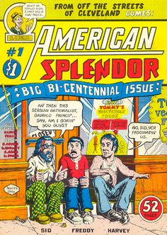 American Splendor comics - It took years but I have the entire catalog.
