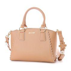 リズリサ LIZ LISA パスティー 花モチーフ使いショルダーストラップ付2WAYバッグ (ブラウン) -靴とファッションの通販サイト ロコンド