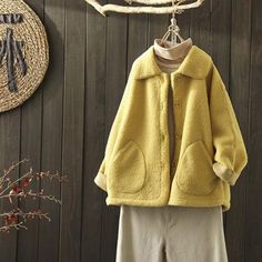Peter Pan Collar Teddy Bear Coat Source by cottonlinenclothes out Dresses winter Autumn Fashion Women Fall Outfits, Fall Winter Outfits, Teddy Bear Coat, Winter Coats Women, Peter Pan, Daily Fashion, Going Out, Clothes For Women, Fall Dresses