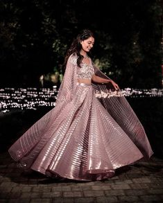 The Best Intimate Wedding Outfits of 2020 - ShaadiWish Ethnic Outfits, Indian Outfits, Trendy Outfits, Bollywood Lehenga, Red Lehenga, Sharara Designs, Lehenga Designs, Colored Wedding Dresses, Bridal Dresses