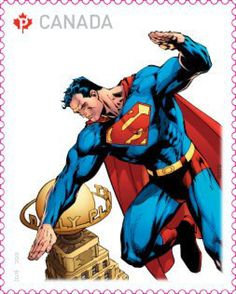 Canada Post to release Superman stamps