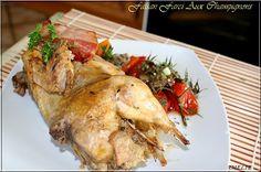 FAISAN RÔTI, FARCI AUX CHAMPIGNONS DES BOIS ! Un ami chasseur, nous a offert une poule faisane. C'est une viande délicatement fine, pas...