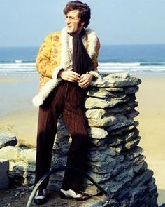 John Lennon - The Beatles at Watergate Bay as part of their Magical Mystery Tour