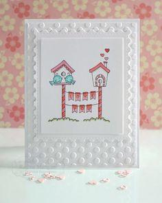 Love You card by Regina Mangum