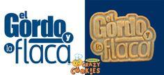 Television Show - Promotions - Marketing - Custom Cookies - El Gordo y La Flaca - Give Aways #Marketing #Television #Show #Custom #Cookies #Announcements