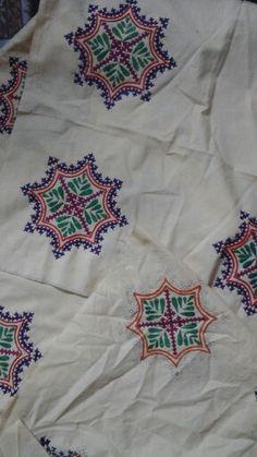 Kutchi Bharat, Kutchi Embroidery...by my sister #Pritidavda #kutchi #Kutch #Gujrat #india #Kutchibharat