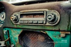 abandoned car stereo by carlballou, via Flickr