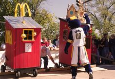 The annual Abe Martin Picnic features the NASHCAR Outhouse Trials and Race every September. Special guest is Boomer from the Indiana Pacers.
