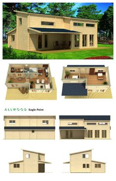 These 1108 sq ft Houses Can Be Bought Online and Delivered to Your Property Building Homes, Building A House, Small Houses, Tiny House, Floating Architecture, Cool House Designs, Oh The Places You'll Go, Home Buying, Home And Living