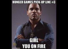 Lenny Kravitz would not need a pick up line with me. Just sayin'.