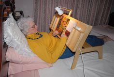 Bed reader, repin from Glen Hougan