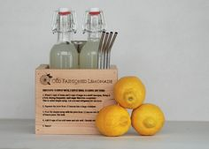 Wooden Lemonade Kit by Meriwether of Montana | Meriwether of Montana