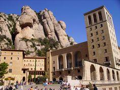 Montserrat  Montserrat is perhaps the most important spiritual and cultural center of Catalonia. The Benedictine Monastery of Montserrat where the monks worship Catalonia's Patron Saint, the black Madonna of Montserrat.