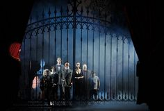 addams family musical set - Google Search