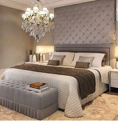 Desejo da noite: um quarto lindo e aconchegante como este.