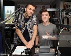 myles+parrish | Kalin White and Myles Parrish of Kalin and Myles visit radio station ...