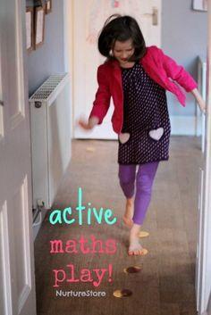 Active math play ideas