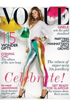 Fashion Magazine Covers - Online Archive for Women (Vogue.com UK) DECEMBER 2011