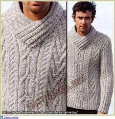 Мужской пуловер Creations 09/10 Bergere de France.. Обсуждение на LiveInternet - Российский Сервис Онлайн-Дневников