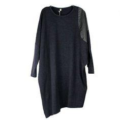 Stylish Western Irregular Spliced Plus Size Long Shirts