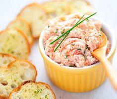 Salmon Dill & Cream Cheese Spread Recipe | House & Home @Beth Kaufman