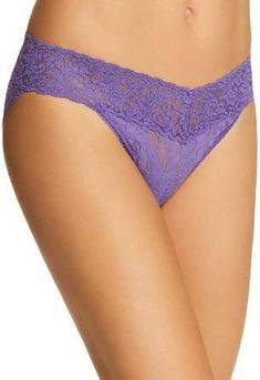 SIZE L NWT CANDIE/'S ORCHID COLOR WITH LACE THONG