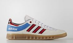 Everything old is new again. adidas has proven this time and time again, rereleasing old sneaker models to quite a bit of fanfare. The latest Three Stripes has unearthed from its archives is the Handball Top, a modern reiteration of a sneaker that was originally released in 1987. An indoor