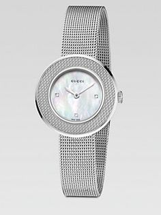 Gucci - U-Play Collection Stainless Steel Mesh Watch