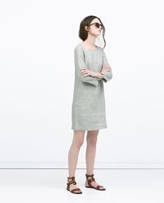 ZARA - WOMAN - STRAIGHT SEAMED DRESS