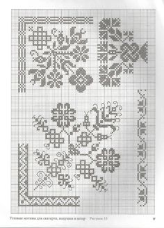 This Pin was discovered by Mar Cross Stitch Borders, Cross Stitch Flowers, Cross Stitch Designs, Cross Stitching, Cross Stitch Patterns, Tatting Patterns, Hand Embroidery Patterns, Ribbon Embroidery, Cross Stitch Embroidery