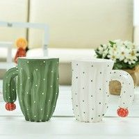 Product Color: White/ Green Product Material: Ceramic Product Capacity: 400ml Product Size: Width of