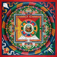 Hand painted Mandala from Nepal
