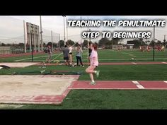 Teaching the long jump penultimate step to beginners by Keinan Briggs Triple Jump, Coach K, Pole Vault, Long Jump, Track And Field, Health And Wellness, Workout, Cross Country, Fitness