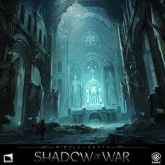 Elven Catacombs, George Rushing on ArtStation at https://www.artstation.com/artwork/EGbVA