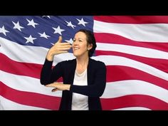 """""""The Star Spangled Banner"""" Performed in ASL by Susan Layton Asl Sign Language, Language Study, American Sign Language, Asl Videos, Music Education, Science Education, Physical Education, March Themes, American Heritage Girls"""